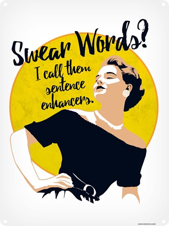 I Call Them Sentence Enhancers - Swear Words
