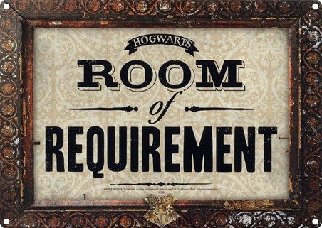 Framed Room Of Requirement - Harry Potter