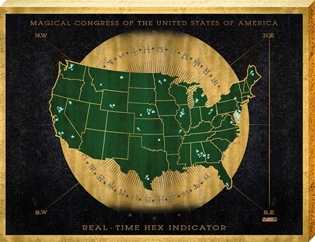 Hex Indicator Map - Fantastic Beasts