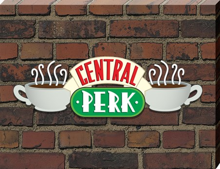 Central Perk Brick - Friends