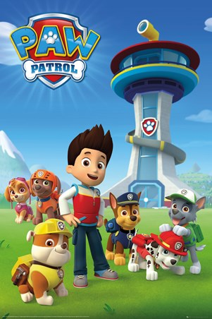 A Team Of Puppies - Paw Patrol