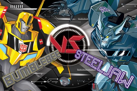Bumblebee VS Steeljaw - Transformers Robots In Disguise