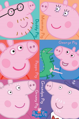 A Family Of Porkers - Peppa Pig