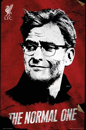 "Framed ""The Normal One"" Jürgen Klopp - Liverpool FC"