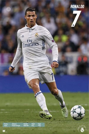 Real Madrid Number 7 - Cristiano Ronaldo