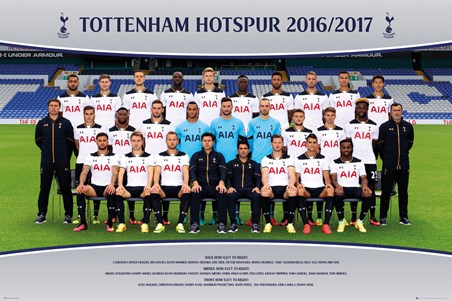 Team Photo 16/17 - Tottenham Hotspur
