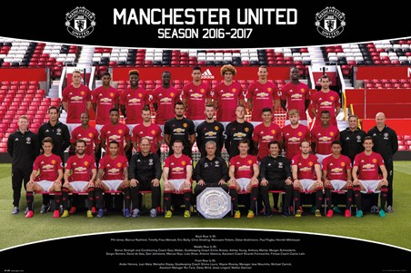 Team Photo 16/17 - Manchester United