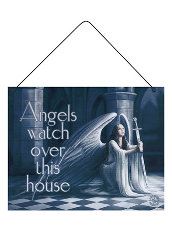 Angels Watch Over This House - Anne Stokes
