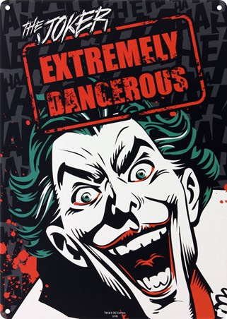 Framed Extremely Dangerous - The Joker