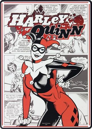 Comic Book Vixen - Harley Quinn