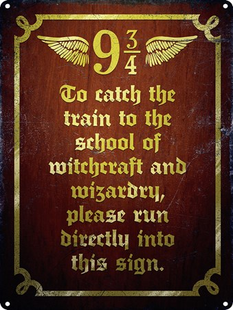 How To Catch The Hogwarts Express - Harry Potter