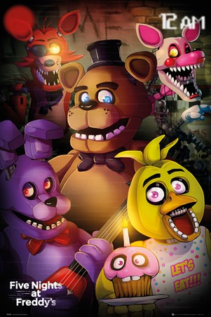 Group Shot, Five Nights At Freddy's