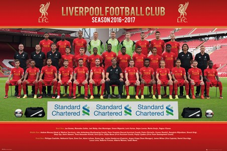 Team Photo 16/17 - Liverpool FC