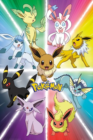 Eevee Evolution - Pokemon