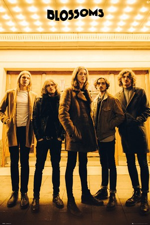 Framed Band Line-up - The Blossoms