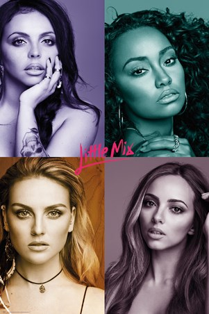 Framed Quad Pictures - Little Mix