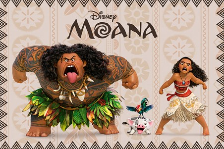 Moana and Maui - Moana
