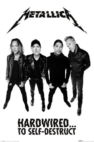 Framed Hardwired To Self-Destruct - Metallica