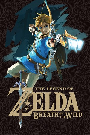 Breath Of The Wild Cover Art - The Legend Of Zelda