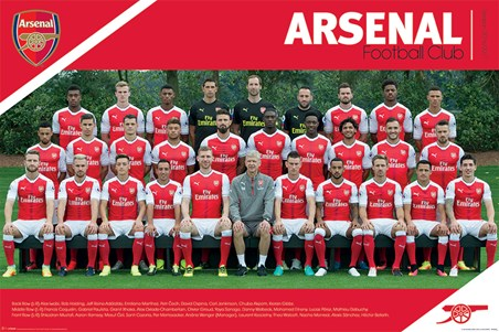 Team Photo 2016/2017 - Arsenal FC