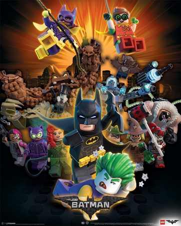 Framed Boom! - The Lego Batman Movie