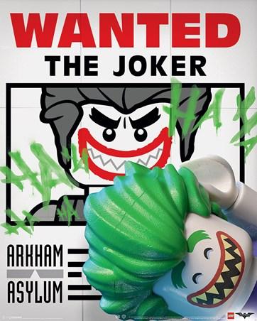Wanted The Joker - Lego Batman