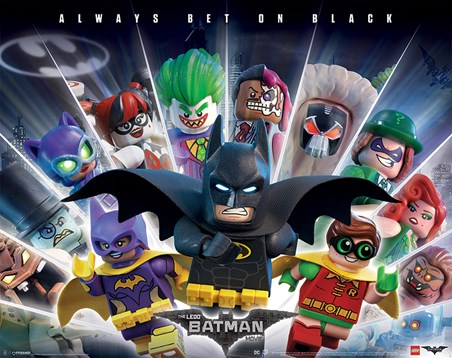 Always Bet On Black - Lego Batman