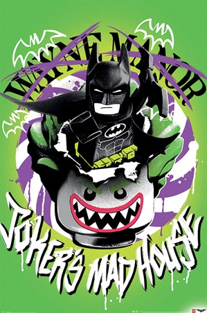 The Joker's Mad House - The Lego Batman Movie