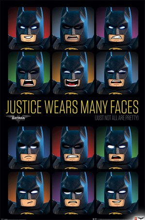 Justice Wears Many Faces - Lego Batman