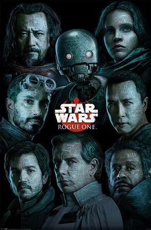 Framed The Rebel Alliance Versus The Empire - Star Wars Rogue One