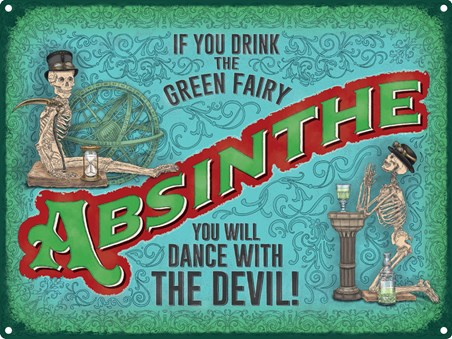 The Green Fairy, Absinthe