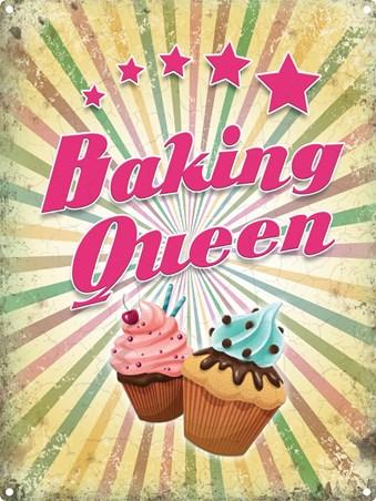 Framed Baking Queen - Kitchen