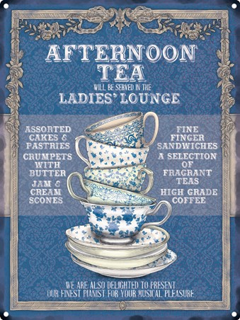 Framed Ladies Lounge - Afternoon Tea