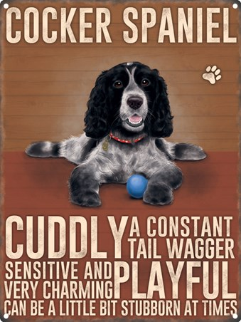 Constant Tail Wagger - Cocker Spaniel