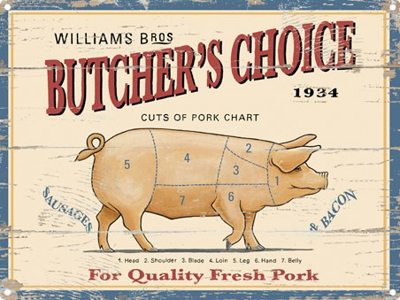 Williams Brothers - Pork Chart