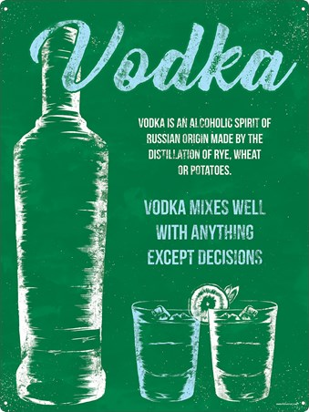 Framed Vodka Mixes Well With Anything - That's The Spirit