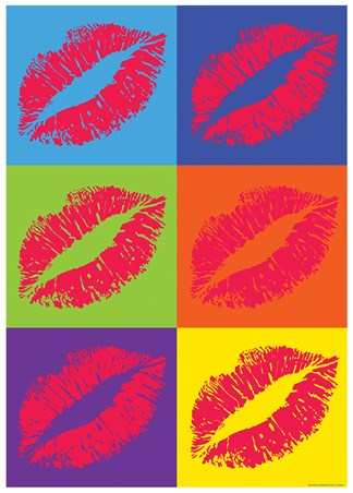 Lipstick - Pop Art