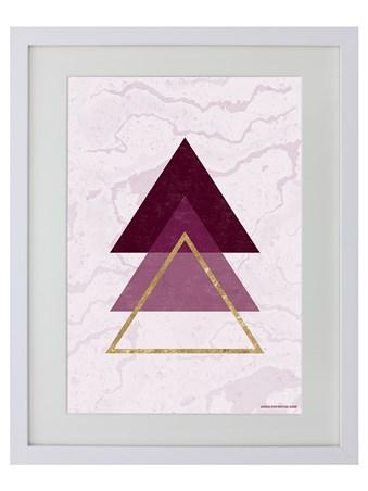 Contemporary Geometric Tree - Triangle Trio