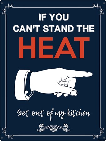 Framed If You Can't Stand The Heat - Kitchen Humour