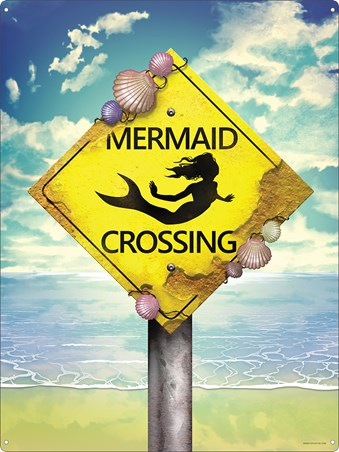 The Most Important Sign Of All - Mermaid Crossing