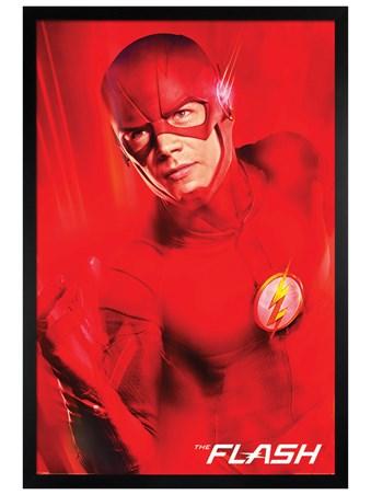 Black Wooden Framed The Flash New Destinies -