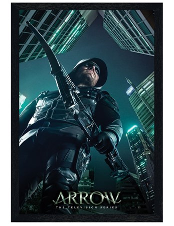 Black Wooden Framed Legacy - Arrow