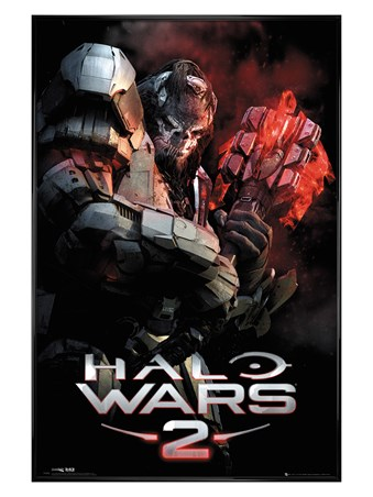 Gloss Black Framed Gravity Hammer - Halo Wars 2
