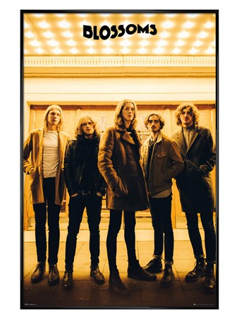 Gloss Black Framed Band Line-up - The Blossoms