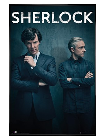Framed Gloss Black Framed Iconic - Sherlock