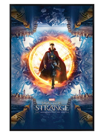 Gloss Black Framed Portal - Doctor Strange