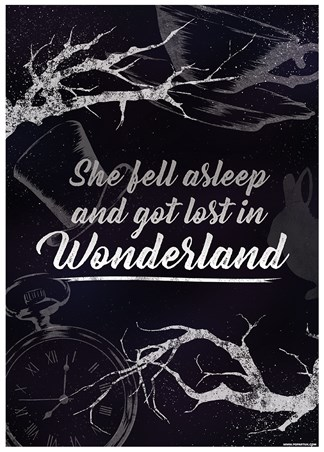 She Fell Asleep And Got Lost In Wonderland - Down The Rabbit Hole
