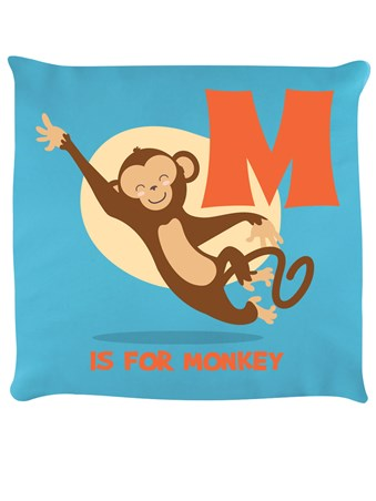 Framed M Is For Monkey - Alphabet Business