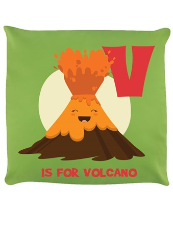 V Is For Volcano - Lime Green Explosion