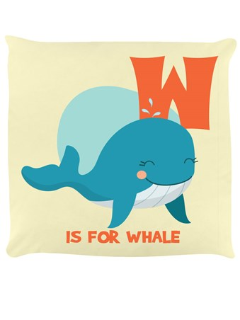 Framed W Is For Whale - Alphabet Fun